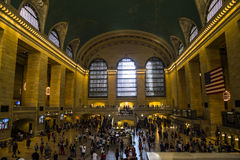 Grand Central Terminal Overview Royalty Free Stock Image