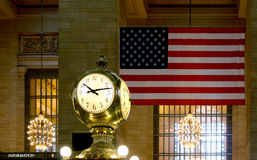 Grand Central Terminal, Station, NYC Royalty Free Stock Image