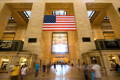 Grand Central Terminal. Ticket booths Royalty Free Stock Photos