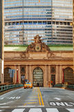 Grand Central Terminal viaduc and old entrance Stock Images