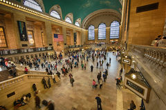 Grand Central Terminal Wide Shot Royalty Free Stock Photos