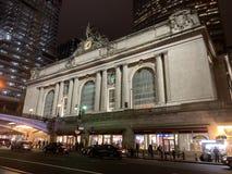 Grand Central -Terminalaußenseite stockfoto