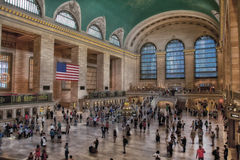 Grand Central terminalinre Arkivfoton