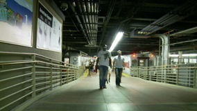 Grand Central Train Subway Platform Time Lapse Clip 1. Time Lapse of Grand Central Station NYC stock footage