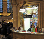 Grand centrals tourism information desk. Shot of grand centrals tourism information desk in new york city Stock Photos