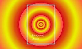 Grand cercle abstrait au petit alignement central belle conception color?e de fond Illustration EPS10 de vecteur illustration stock