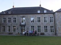 Grand château Photographie stock