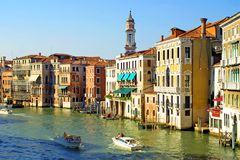 Grand Channel in Venice Royalty Free Stock Images