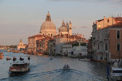 Grand channel in Venice Royalty Free Stock Photo