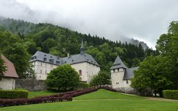 Grand Chartreuse Museum. The museum of the Carthusian order in the Chartreuse. As the Monastery of the Carthusian order is not open for visitor this museum will royalty free stock photos