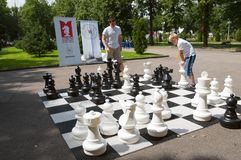 Grand Chess Royalty Free Stock Images