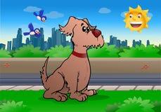 Grand chien Image libre de droits