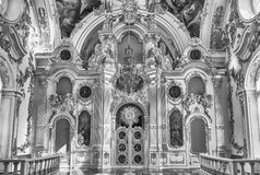 Grand Church of the Winter Palace, Hermitage Museum, St. Petersb Royalty Free Stock Photos
