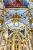 Grand Church of the Winter Palace, Hermitage Museum, St. Petersb Royalty Free Stock Photography