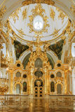 The Grand Church of the Winter Palace (State Hermitage) in St. P Stock Photography