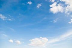 Grand ciel photographie stock