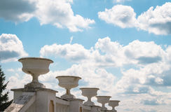 Grand ciel bleu Photos libres de droits
