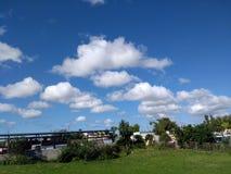 Grand ciel bleu image libre de droits