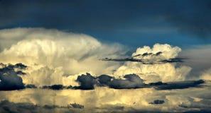 Grand ciel 102 en Alberta Canada Images stock