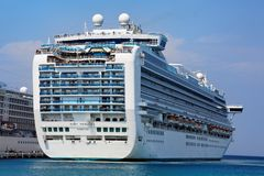 Grand-class cruise ship Stock Photography