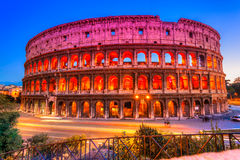 Grand Colosseum, Rome, Italie photos libres de droits