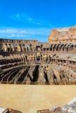 Grand Colosseum, Rome, Italie Image libre de droits