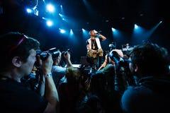 Grand concert de Sean chez Bumbershoot Image stock