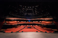 Grand concert hall interior Royalty Free Stock Photo