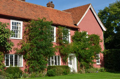 Grand cottage rose Photos libres de droits