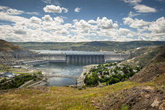 Grand Coulee Dam Royalty Free Stock Images