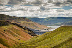 Grand Coulee Dam Royalty Free Stock Photography