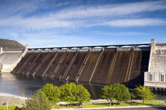 Grand Coulee Dam Hydroelectric Power Plant Columbia River Royalty Free Stock Photo
