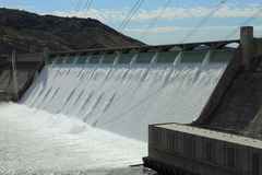 Grand Coulee Hydroelectric Dam. The Grand Coulee Hydroelectric Dam in Washington, U.S.A Royalty Free Stock Image