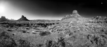 Grand County, Utah. Utah desert panorama just after dawn Royalty Free Stock Images
