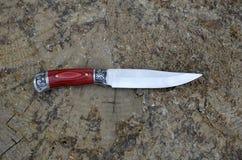 Grand couteau décoratif Photo libre de droits