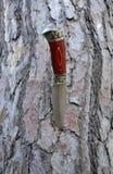 Grand couteau décoratif Photographie stock