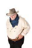 Grand cowboy dur Image libre de droits