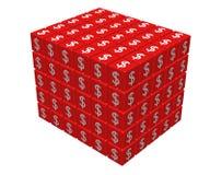 Grand cube Photos libres de droits