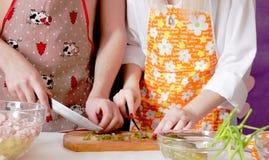Grand cuisinier ensemble ! Photographie stock