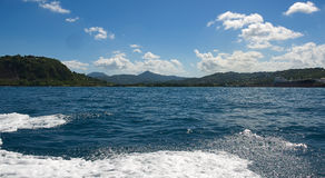 Grand Cul De Sac - Saint Lucia. Grand Cul De Sac - Caribbean island - Saint Lucia stock photo