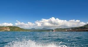 Grand Cul De Sac - Saint Lucia. Grand Cul De Sac - Caribbean island - Saint Lucia royalty free stock image