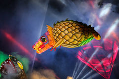 Grand défilé annuel de dragons Photos libres de droits