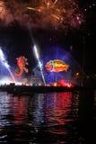 Grand défilé annuel de dragons Images libres de droits