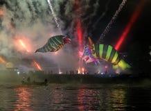 Grand défilé annuel de dragons Photographie stock