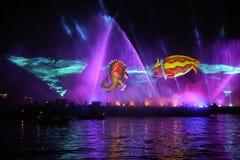 Grand défilé annuel de dragons Photographie stock libre de droits