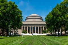 Grand dôme de Massachusetts Institute of Technology (MIT) image libre de droits