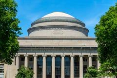 Grand dôme de Massachusetts Institute of Technology (MIT) images libres de droits