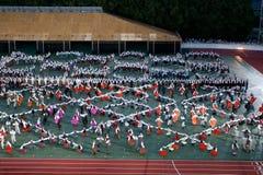 Grand Dance Performance Stock Photo