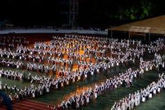 Grand Dance Performance Royalty Free Stock Image