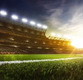 Grand day sport arena background Stock Photography
